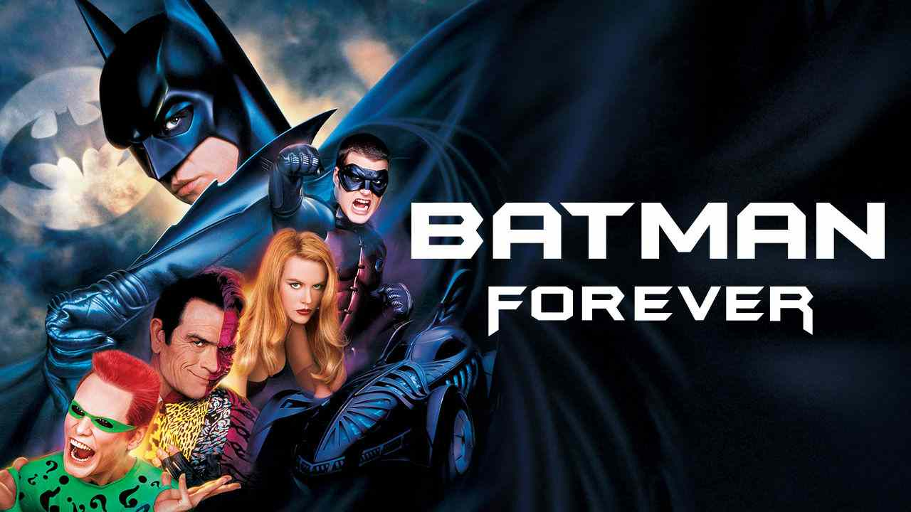 Is Movie Batman Forever 1995 Streaming On Netflix
