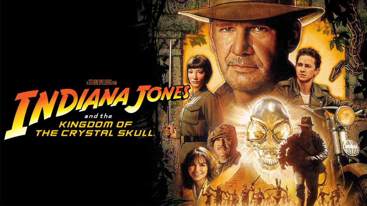 Is Movie Indiana Jones And The Kingdom Of The Crystal Skull 2008 Streaming On Netflix