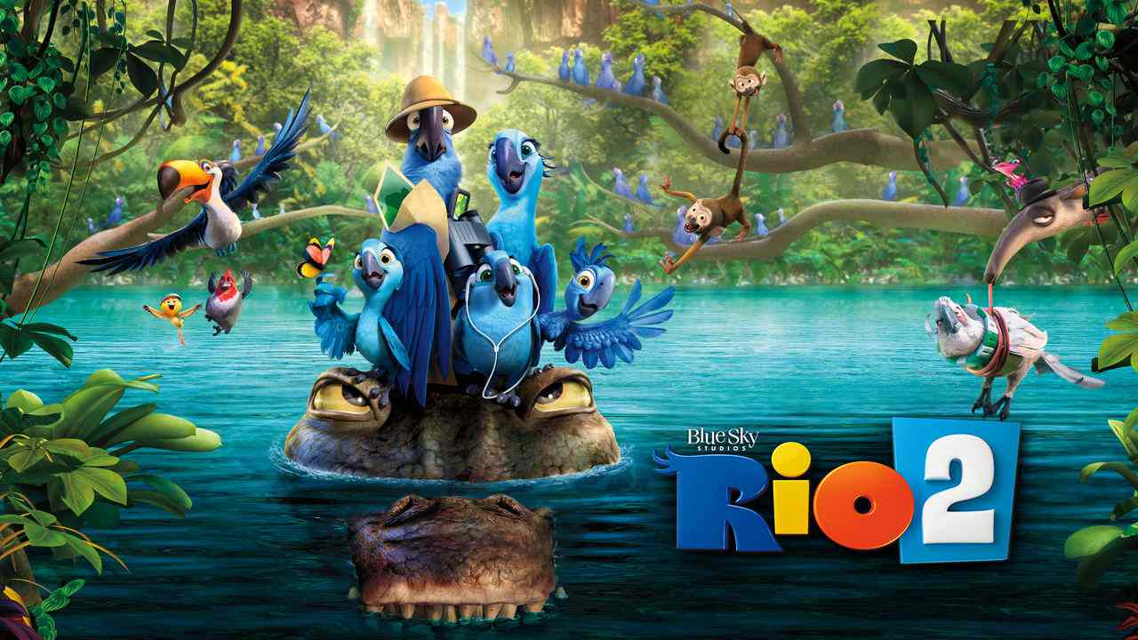 Is Movie Rio 2 2014 Streaming On Netflix