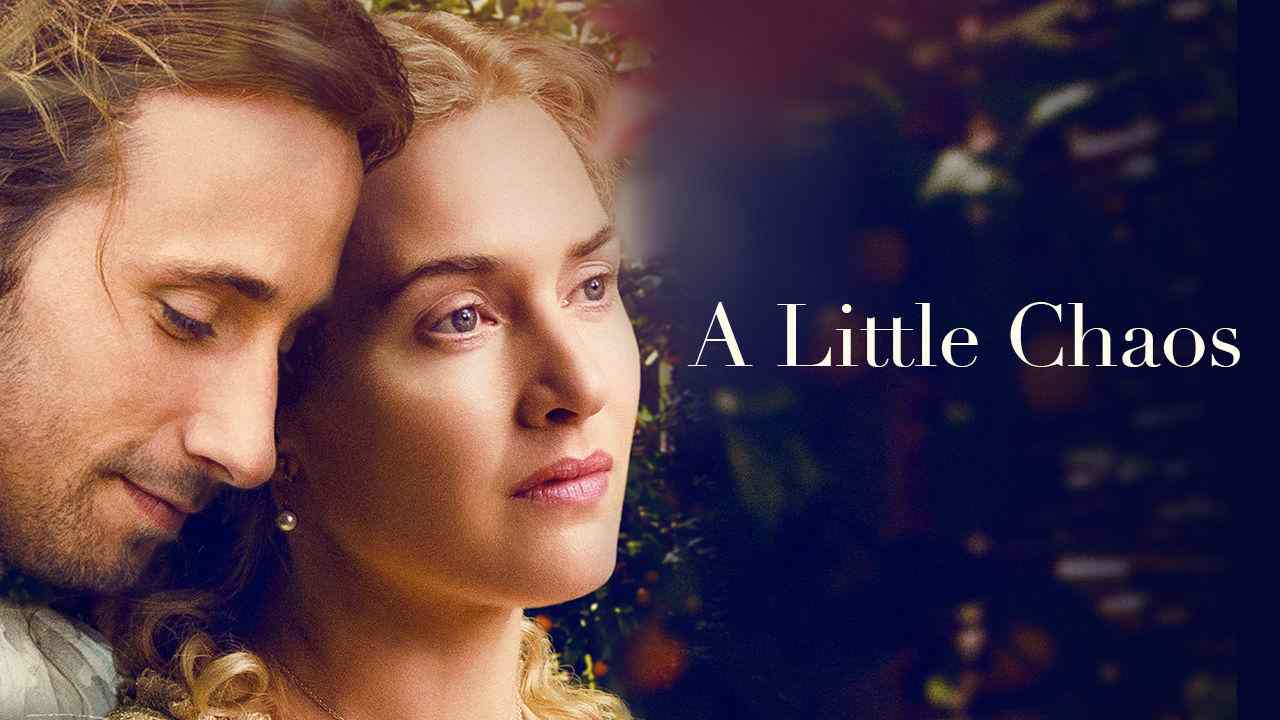 Is 'A Little Chaos' movie streaming on Netflix?
