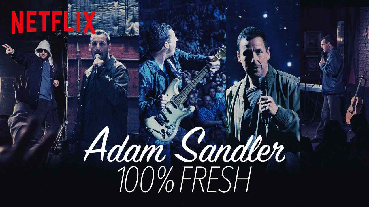 ADAM SANDLER 100% FRESH 2018