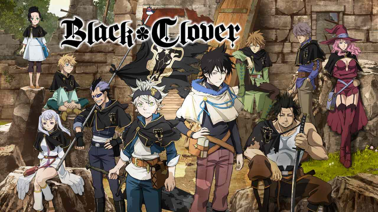 Is 'Black Clover 2017' TV Show streaming on Netflix?