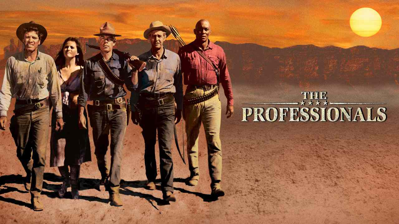 The Professionals (1966) – Action, Adventure, Western