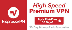 ExpressVPN Ad High Speed
